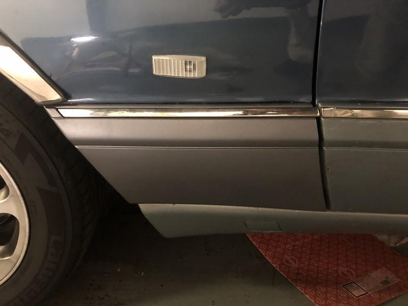 W126 cladding