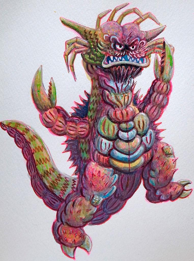 """No.0670 Crabdragon kaiju """"Crubn"""""""