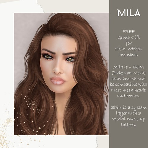 Mila - Gift for Skin Within grou members