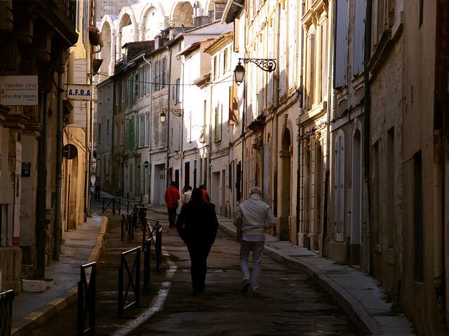 Déambuler en Arles