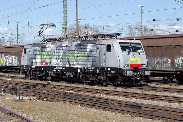 MRCE 189 990 Basel Badischer Bahnhof