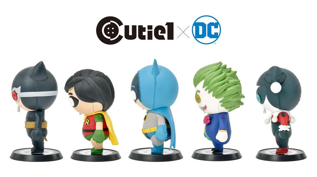 英雄與惡棍一次收藏~Prime 1 Studio 新系列「Cutie1 DC角色  Vol.1」套組 (キューティ1 DC コンプリートセット Vol.1)