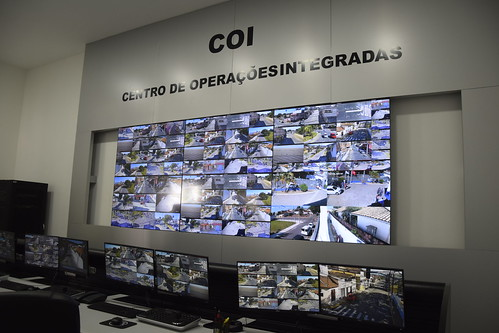 Inauguração do COI de Lorena