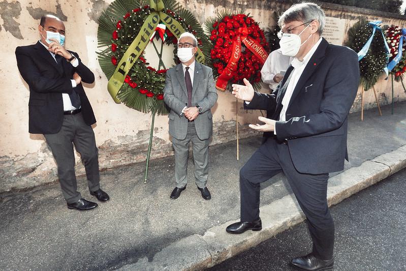 Commemorazione Massimo D'Antona