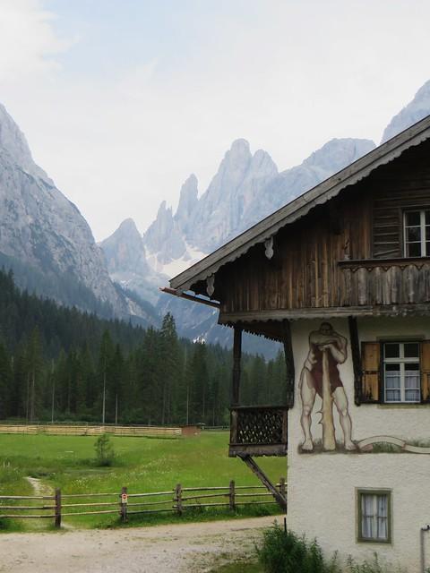 Val Fiscalina-Fischleintal, Sesto-Sexten,  province de Bolzano, Trentin-Haut Adige, Italie.