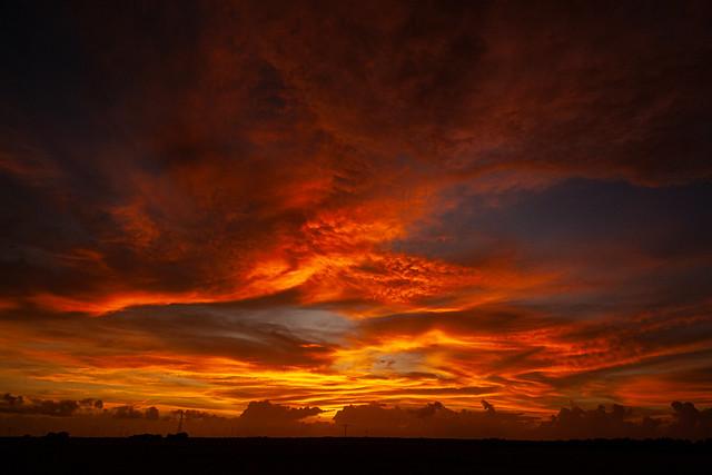 Sunset, Wetlands, Northern Territory, Australia