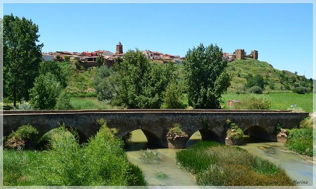 Puente de origen Romano sobre el río Cea