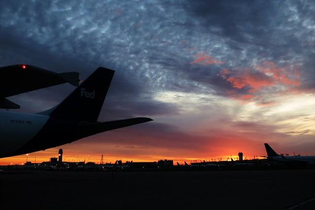 airport sunrise....