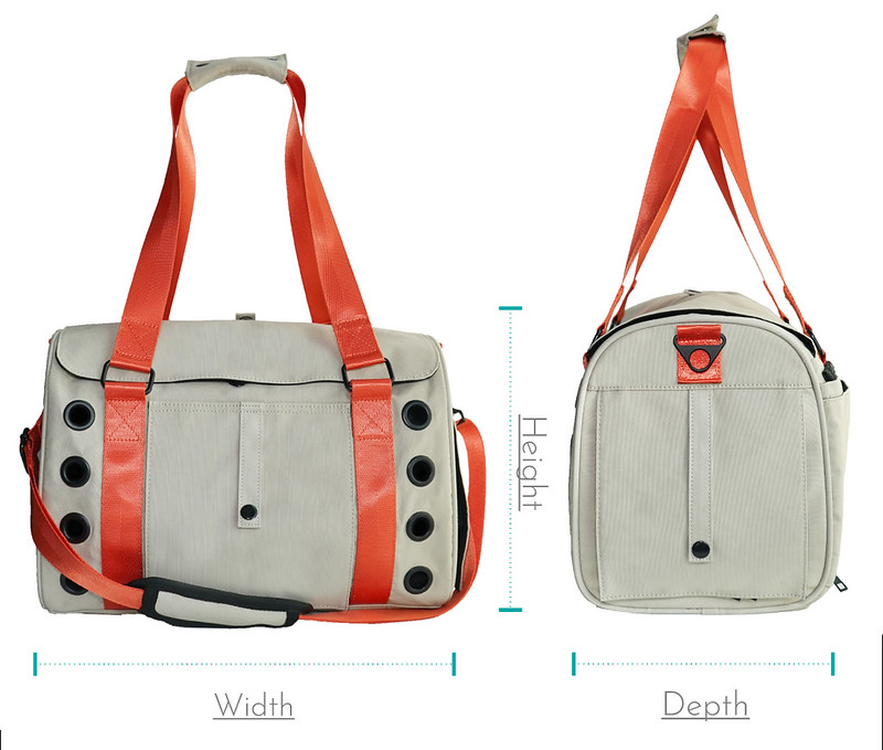 Airline approved dog carrier size