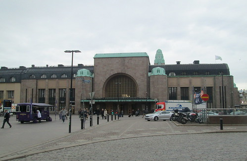 Helsinki Railway Station Side Entrance
