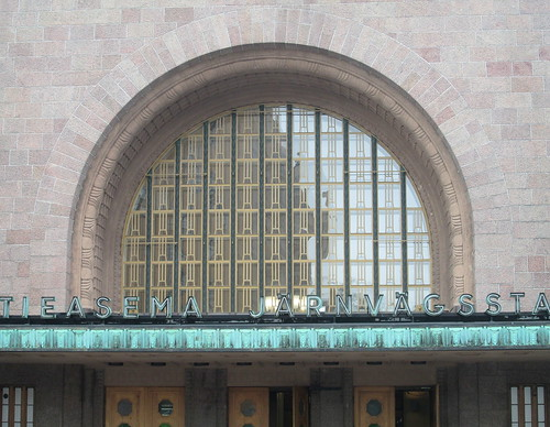 Arched Window, Helsinki Railway Station