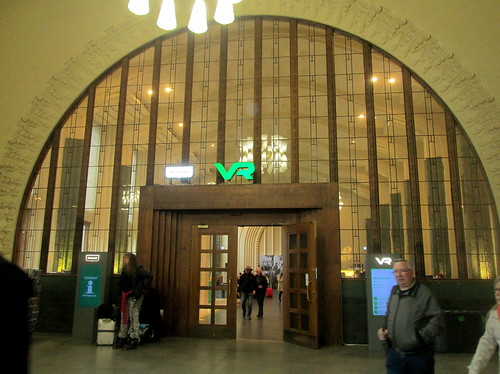 Wonderful Arched Partition Window,Helsinki Railway Station