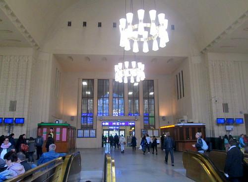 Interior Hallway, Helsinki Railway Station