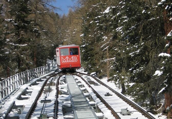 Muottas Muragl - Romantik Hotel Albula Alpen Schweiz foto 07