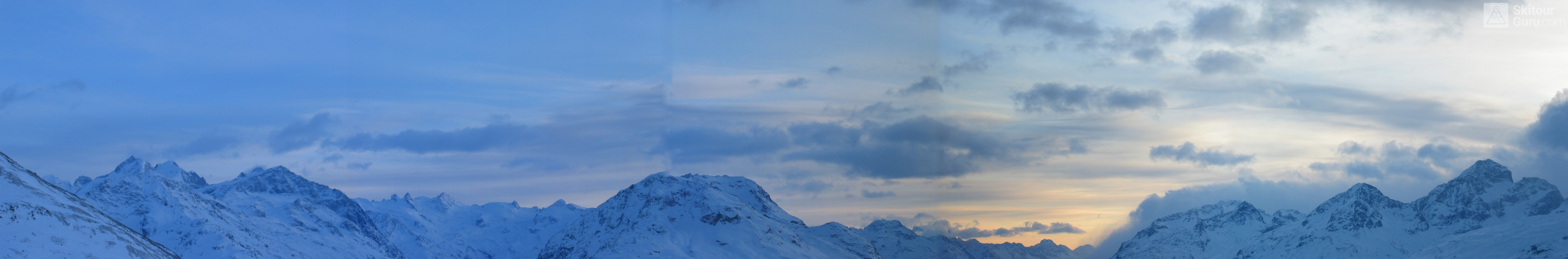 Muottas Muragl - Romantik Hotel Albula Alpen Schweiz panorama 14