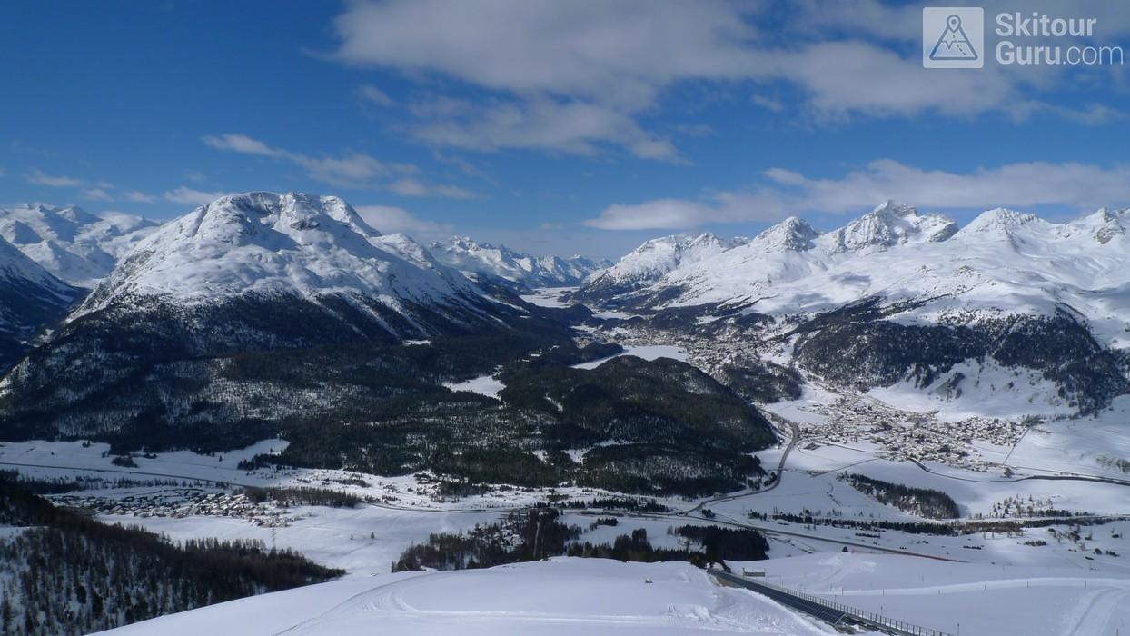 Muottas Muragl - Romantik Hotel Albula Alpen Schweiz panorama 16