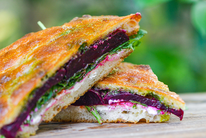 Roasted Beet Sandwich