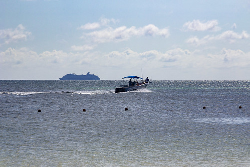 Heading out for some fishing, Royalton Riviera Cancun Resort & Spa, Mexico