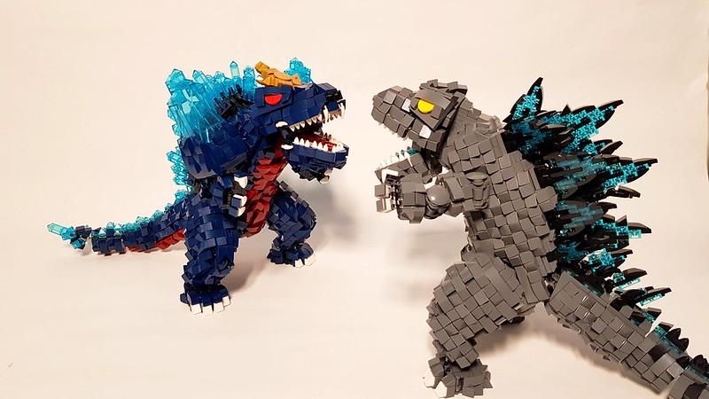 LEGO Godzilla vs Space Godzilla
