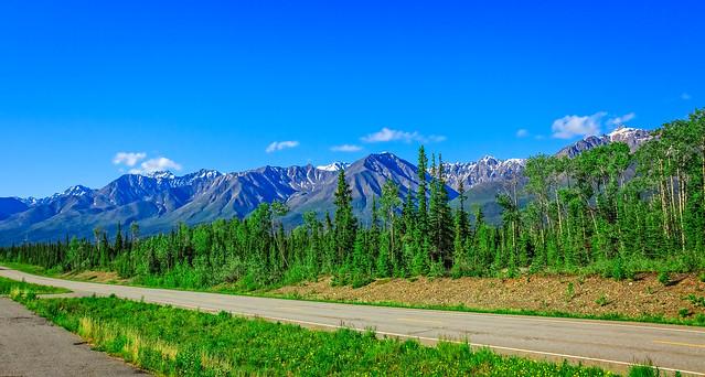 Beautiful Alaskan Highway