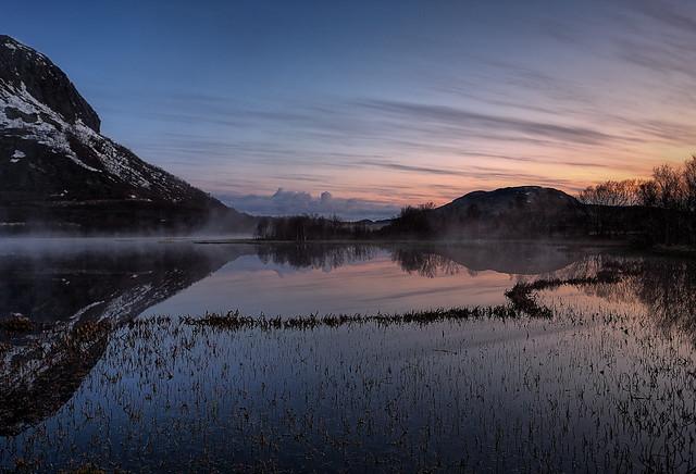 Before sunrise, Lofoten - Norway