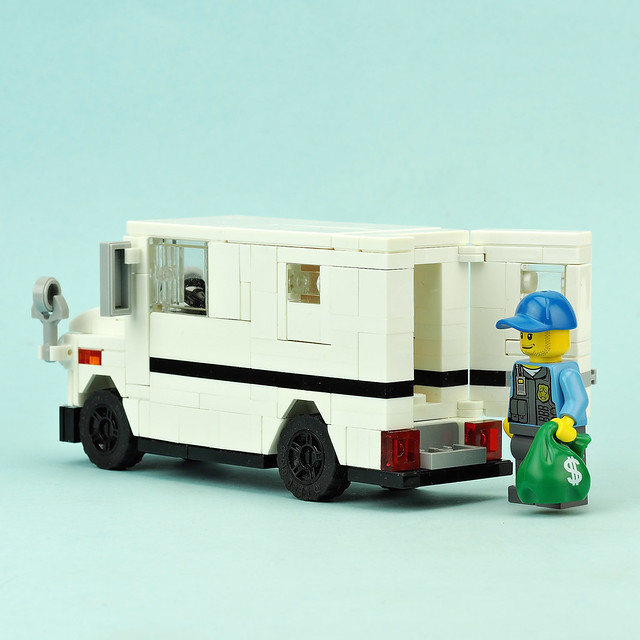 Bank Armored Truck