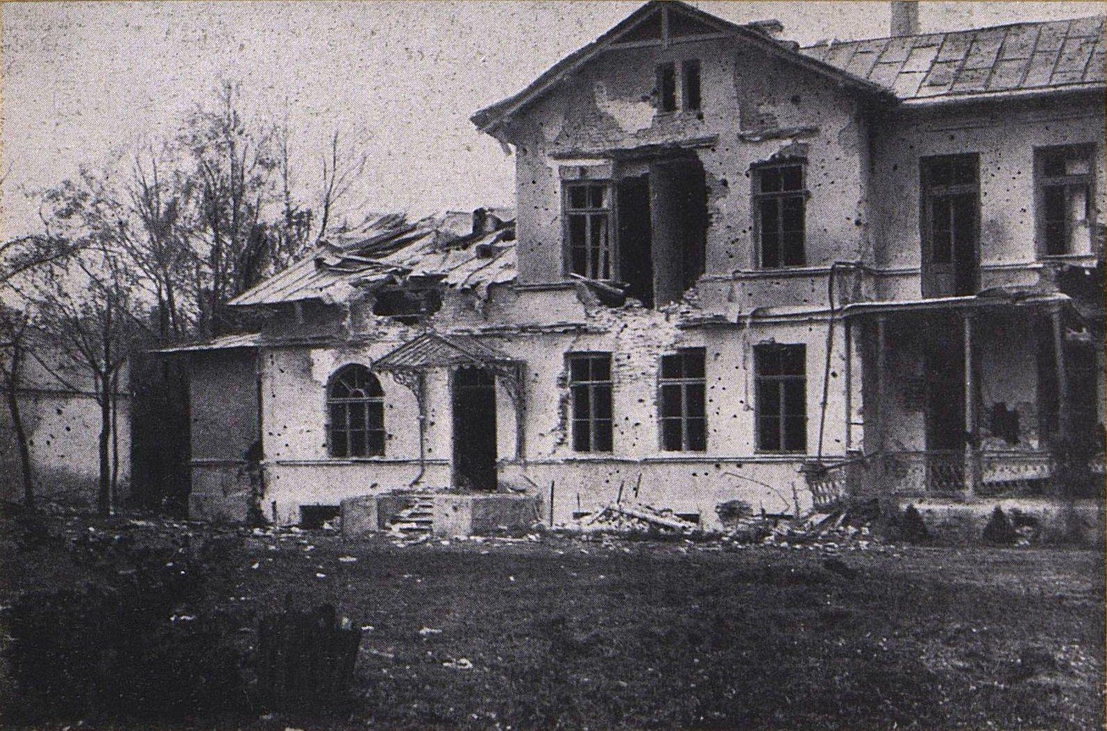 22. Помещичий дом в Пенцицах-Малых под Варшавой