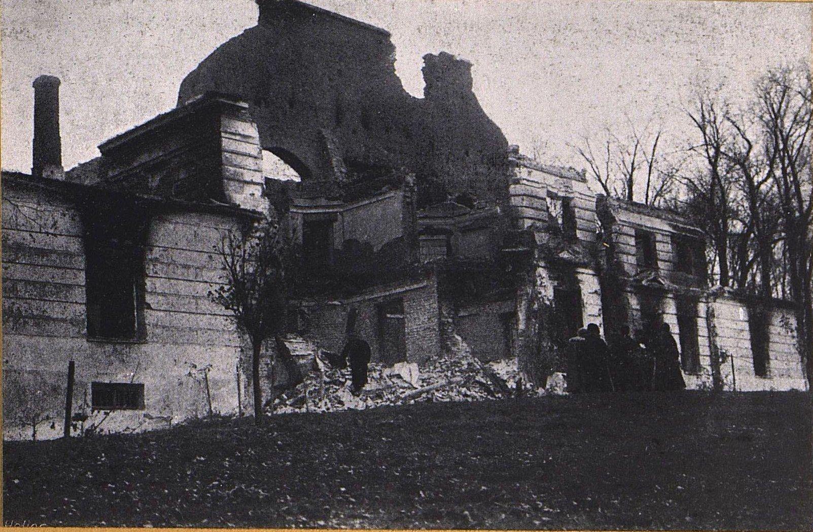 21. Помещичий дом в Пенцицах-Вельких под Варшавой