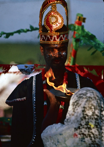 aarti krishna leela trinidad hindu ritual play festival religious