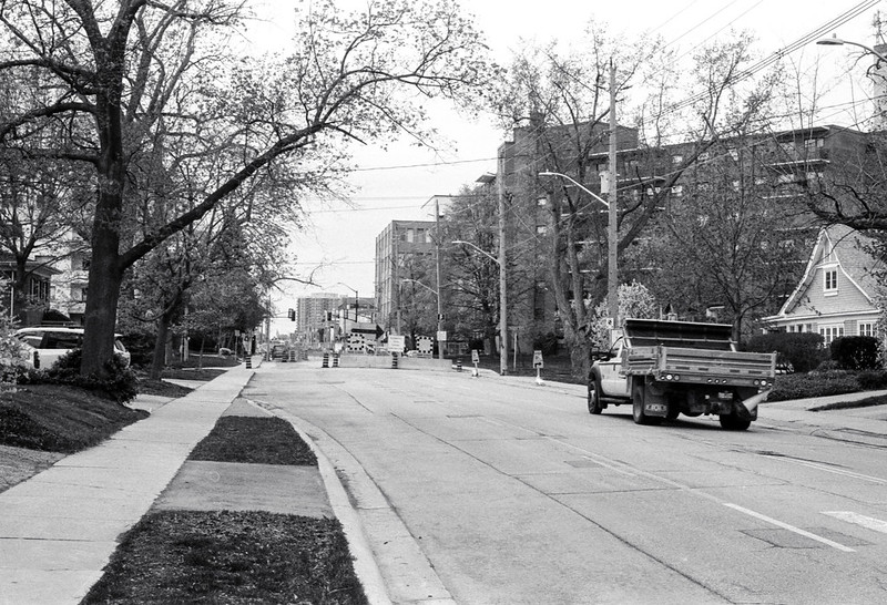 Town Truck on Lakeshore._