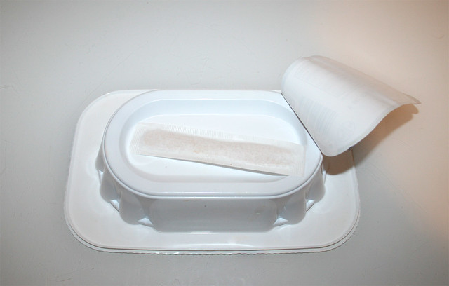 03 - Busse Currywurst - Packung hinten - geöffnet / Package back - open
