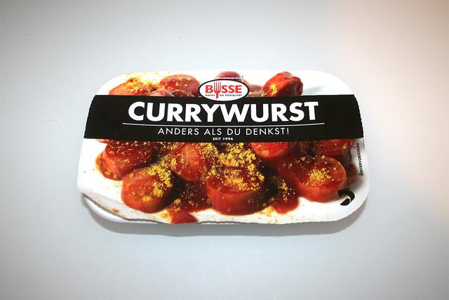 01 - Busse Currywurst - Packung vorne / Package front