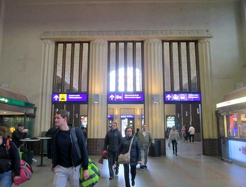 Interior Helsinki Railway Station