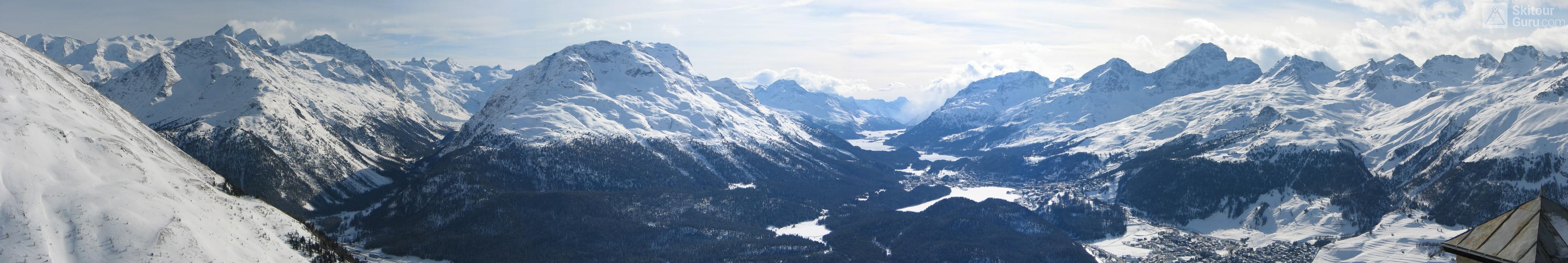 Muottas Muragl - Romantik Hotel Albula Alpen Schweiz panorama 15