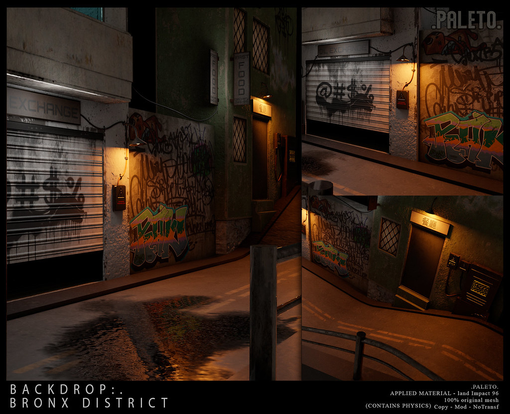 .PALETO. Backdrop:. Bronx District