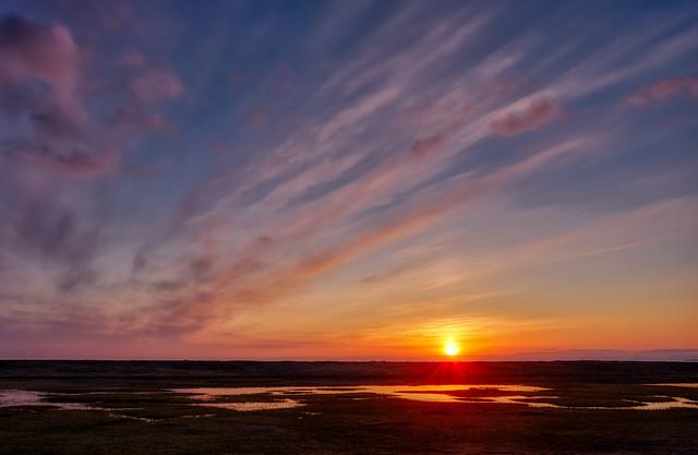 May sunrise, Norway