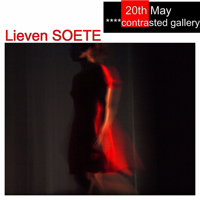 Showing today in ****contrasted gallery!  The photography of Lieven SOETE!