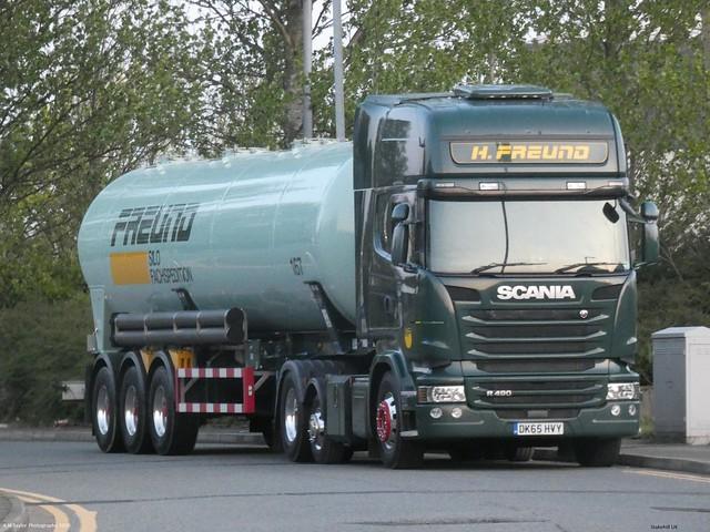 Scania R490 Streamline Topline DK65 HVY Late 2015 H.Freud Stakehill