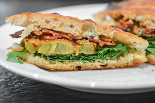 Fried Green Tomato BLTs | by joshbousel
