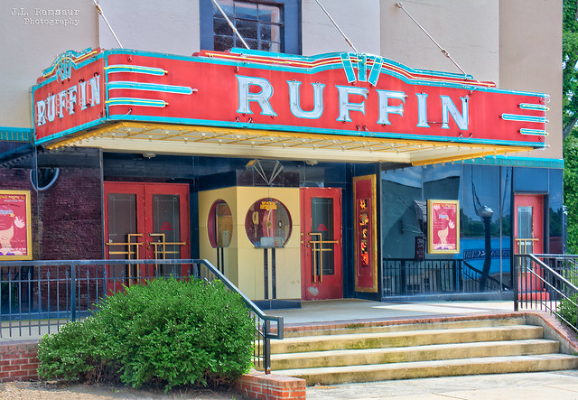 Historic Ruffin Theatre - Covington, Tennessee