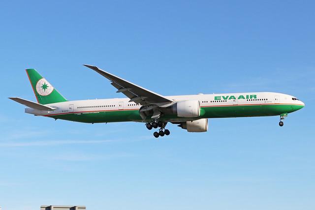 B-16706  -  Boeing 777-35E(ER)  -  Eva Air  -  LHR/EGLL 20-5-20