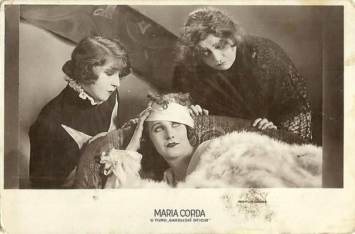 Maria Corda in Der Gardeoffizier