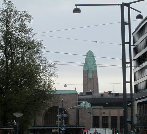 Helsinki Railway Station Clock Tower