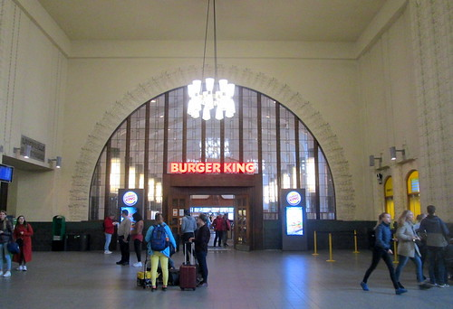 Another arched window, Helsinki Railway Station