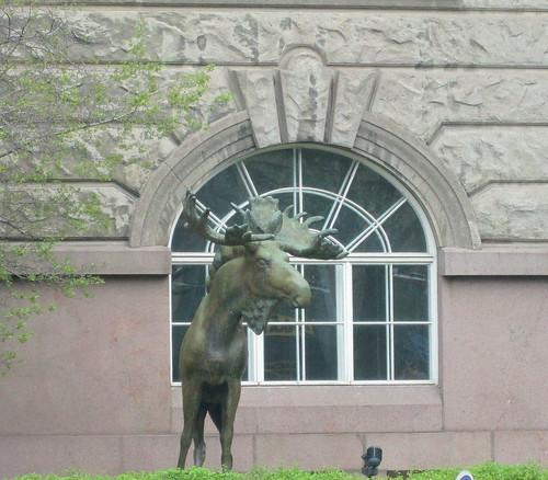 Elk Statue, Helsinki