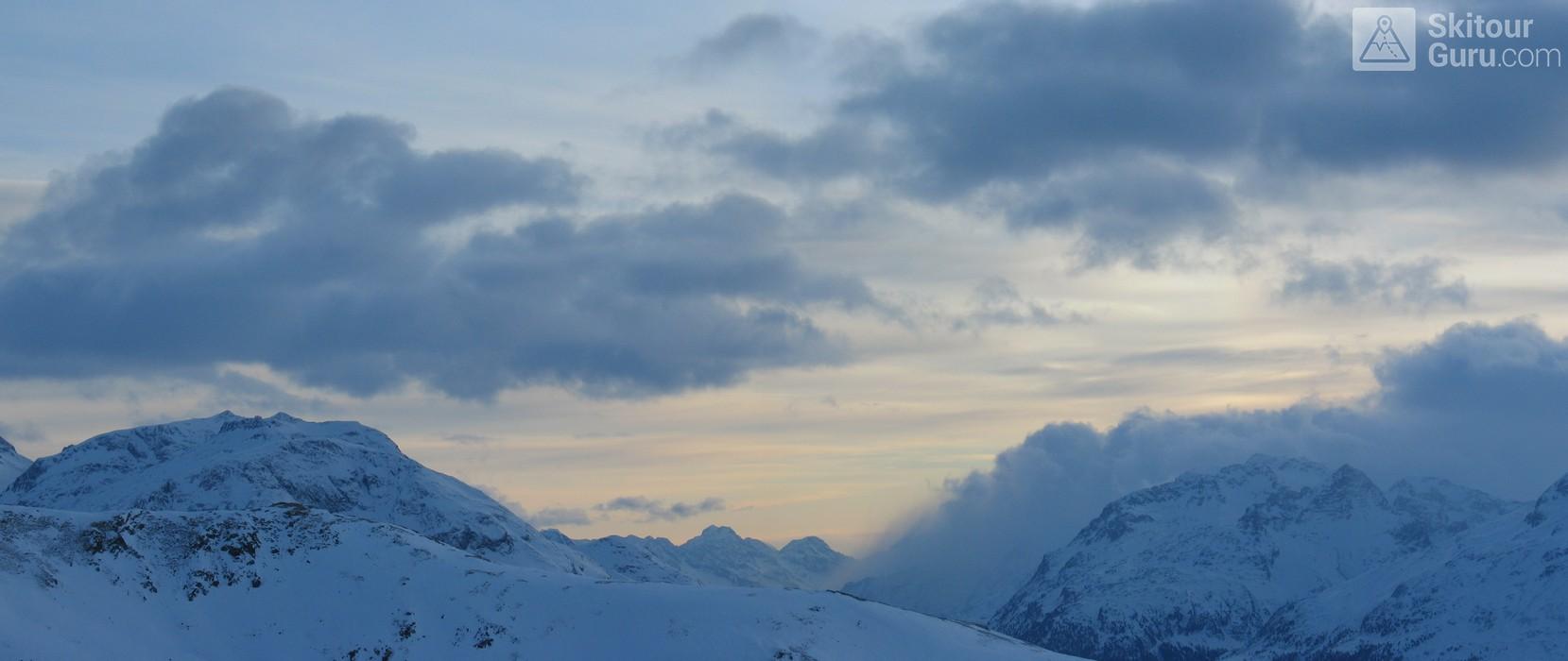 Muottas Muragl - Romantik Hotel Albula Alpen Schweiz panorama 12