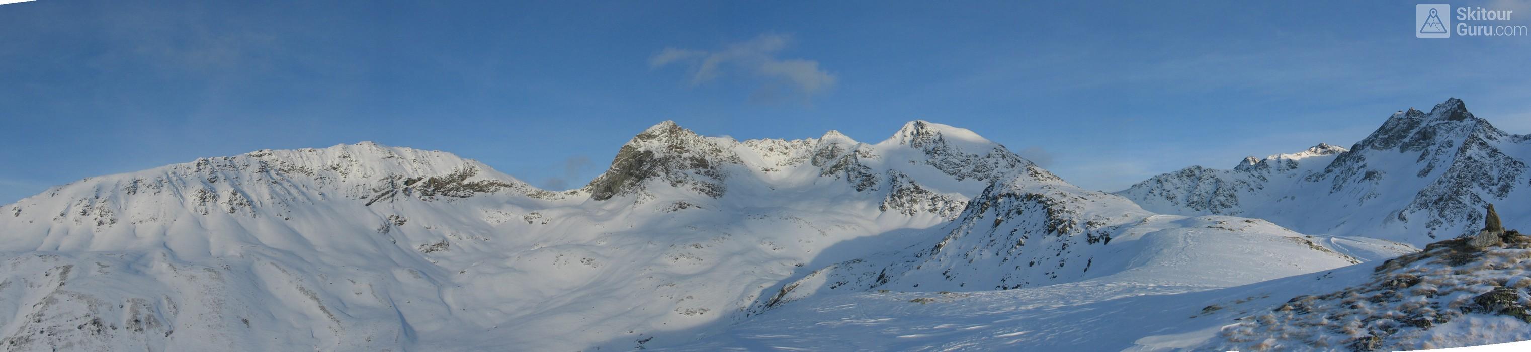 Muottas Muragl - Romantik Hotel Albula Alpen Schweiz panorama 19