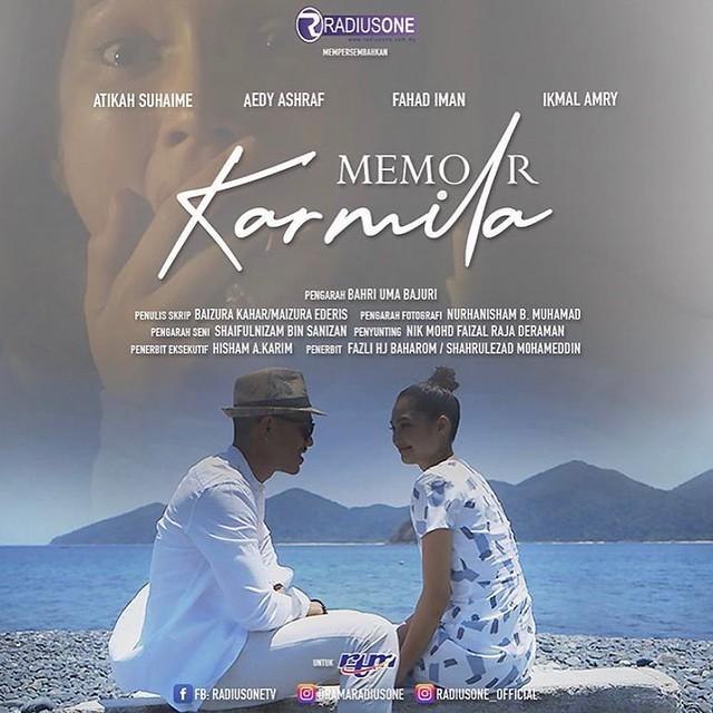Watak Berat Atikah Suhaime Dalam Adaptasi Novel MEMOIR KARMILA