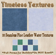 TT 10 Seamless Fine Leather Water Timeless Textures