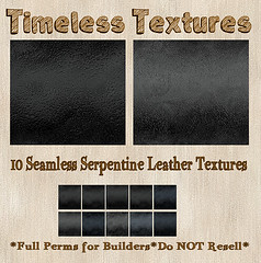 TT 10 Seamless Serpentine Leather Timeless Textures